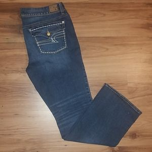 American Eagle Stretch Kick Boot Jeans